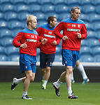 Steven Naismith and David Weir