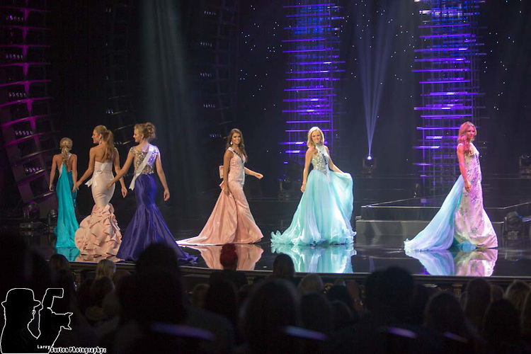 Miss Teen USA Preliminaries at The Venetian Showroom in Las Vegas