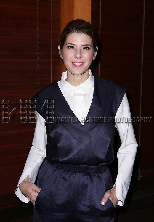 Marisa Tomei  attends the Broadway Opening Night Performance After Party for 'The Realistic Joneses'  at the The Red Eye Grill on April 6, 2014 in New York City.