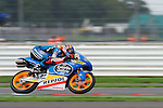 hertz british grand prix during the world championship 2014.<br /> Silverstone, england<br /> August 30, 2014. <br /> F&QP Moto3<br /> alex rins<br /> PHOTOCALL3000/ RME