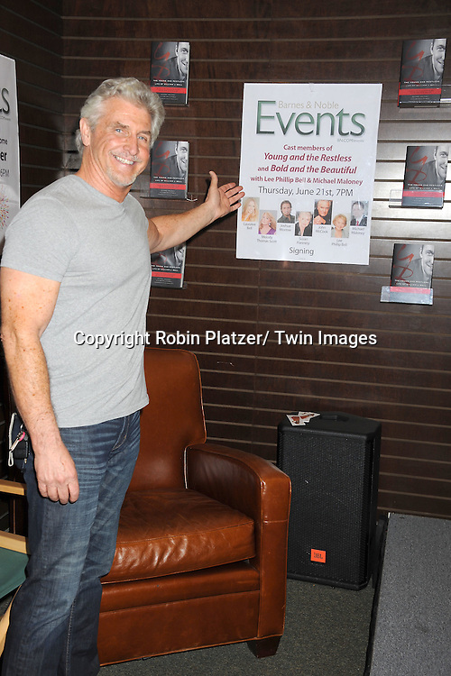 """actor Michael Swan attends the book signing of """" The Young & Restless LIfe of William J Bell on June 21, 2012 at The Barnes & Nobles in The Grove in Los Angeles."""