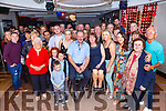 Christy Lynch from Doon, Tralee, seated centre, celebrating his BIG 60 in Benners Hotel on Saturday night.