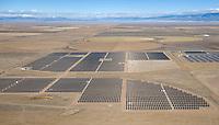 Solar power plant, San Luis Valley, Colorado