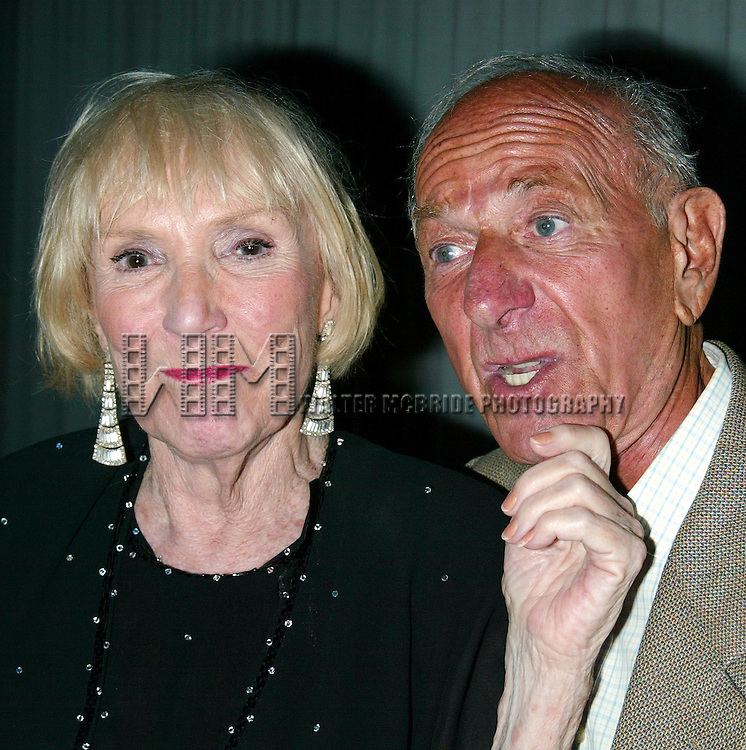 Brett Somers with her Ex-Husband Jack Klugman.An Evening with Brett Somers at Danny's Cabaret .on West 46th Street in  New York City..July 28, 2003.