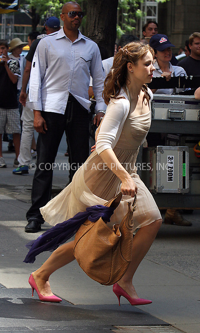 WWW.ACEPIXS.COM . . . . .  ....July 12 2009, New York City....Actress Rachel McAdams was on the set of the new movie 'Morning Glory' in Manhattan on July 12 2009 in New York City....Please byline: AJ Sokalner - ACEPIXS.COM..... *** ***..Ace Pictures, Inc:  ..tel: (212) 243 8787..e-mail: info@acepixs.com..web: http://www.acepixs.com