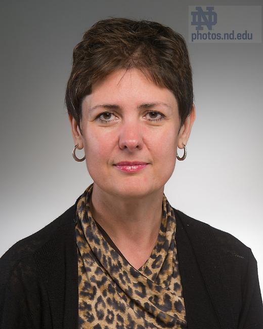 Sep. 4, 2014; Adriana Popescu (Photo by Matt Cashore/University of Notre Dame)