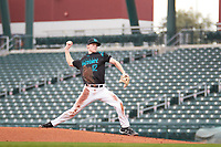 Ryan Witt (12) of Monroe High School in Monroe, Washington during the Under Armour All-American Pre-Season Tournament presented by Baseball Factory on January 14, 2017 at Sloan Park in Mesa, Arizona.  (Freek Bouw/MJP/Four Seam Images)