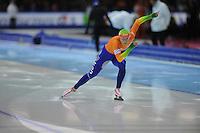 SCHAATSEN: HEERENVEEN: Thialf, World Cup, 03-12-11, 500m A, Annette Gerritsen NED, ©foto: Martin de Jong