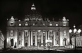 The Vatican at night. photo by jane therese