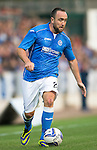 St Johnstone v FC Spartak Trnava...31.07.14  Europa League 3rd Round Qualifier<br /> Lee Croft<br /> Picture by Graeme Hart.<br /> Copyright Perthshire Picture Agency<br /> Tel: 01738 623350  Mobile: 07990 594431