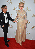 Nicole Kidman &amp; Keith Urban at the 2017 Producers Guild Awards at The Beverly Hilton Hotel, Beverly Hills, USA 28th January  2017<br /> Picture: Paul Smith/Featureflash/SilverHub 0208 004 5359 sales@silverhubmedia.com