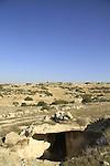 Israel, Shephelah, a cave in Beth Loya