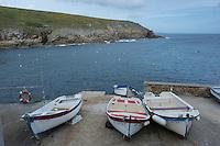 France, Bretagne, (29), Finistère, Cap Sizun, Plogoff: Le port de Feunteun Aod sur la pointe du Raz  //  France, Brittany, Car Sizun, Plogoff