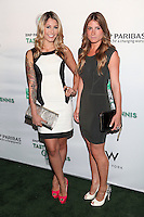 Liz Margulies and Kerri Lisa of Gallery Girls attend the 13th Annual 'BNP Paribas Taste of Tennis' at the W New York.  New York City, August 23, 2012. © Diego Corredor/MediaPunch Inc. /NortePhoto.com<br />