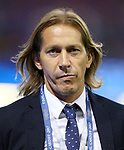 Real Madrid's former player Michel Salgado during the Champions League Final match at the Principality Stadium, Cardiff. Picture date: June 3rd, 2017. Pic credit should read: David Klein/Sportimage