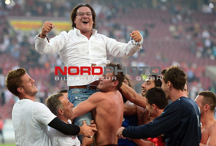 29.08.2013., Mercedes-Benz Arena, Stuttgart - Second leg of UEFA Europa League play-off, VfB Stuttgart - HNK Rijeka.  <br /> Foto &not;&copy;  nph / PIXSELL / Marko Prpic