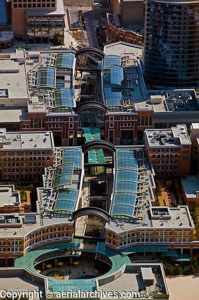 aerial photograph City Centre Shopping Mall, Salt Lake City, Utah