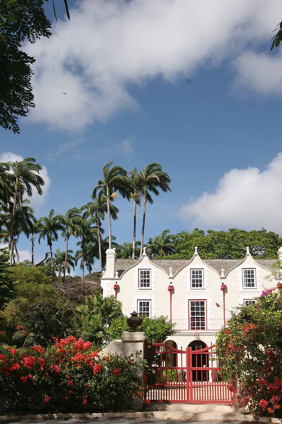 Saint Nicholas Abbey.Saint Peter Parish.Barbados.