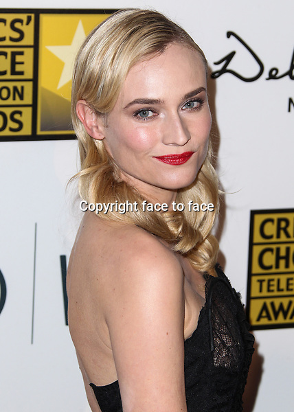 BEVERLY HILLS, CA - JUNE 10: Diane Kruger arrives at the 3rd Annual Critics' Choice Television Awards held at The Beverly Hilton Hotel on June 10, 2013 in Beverly Hills, California. <br /> Credit: MediaPunch/face to face<br /> - USA, Germany, Austria, Switzerland, Australia, UK, Sweden, Estonia, Latvia, Lithuania, Eastern Europe, Taiwan, Singapore, China, Malaysia and Thailand rights only -