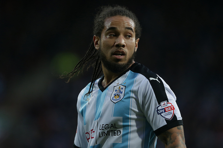 Huddersfield Town's Sean Scannell<br /> <br /> Photographer Stephen White/CameraSport<br /> <br /> Football - The Football League Sky Bet Championship - Huddersfield Town v Preston North End - Saturday 26th December 2015 - The John Smith's Stadium - Huddersfield<br /> <br /> &copy; CameraSport - 43 Linden Ave. Countesthorpe. Leicester. England. LE8 5PG - Tel: +44 (0) 116 277 4147 - admin@camerasport.com - www.camerasport.com