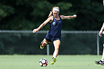 CARY, NC - JUNE 01: Jaycie Johnson. The North Carolina Courage held a training session on June 1, 2017, at WakeMed Soccer Park Field 7 in Cary, NC.