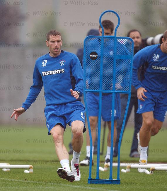 Kirk Broadfoot at training