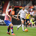 Valencia CF's    Enzo Perez   during La Liga match. January 31, 2016. (ALTERPHOTOS/Javier Comos)