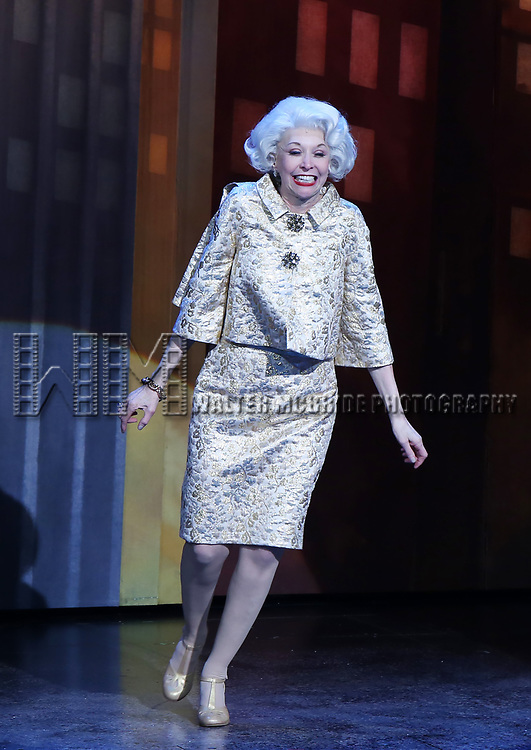 "Julie Halston during the Broadway Opening Night of ""Tootsie"" at The Marquis Theatre on April 22, 2019  in New York City."