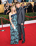 Paul Dano, Zoe Kazan attends The 20th SAG Awards held at The Shrine Auditorium in Los Angeles, California on January 18,2014                                                                               © 2014 Hollywood Press Agency