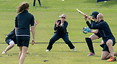 This image is FREE to use (first use only) courtesy of Cricket Scotland - 2018 T20 Women's World Cup – Europe/Americas Qualifier, to be played at Stirling County CC, Scotland, this week (14th and19th August 2017 - picture shows Scotland captain Abbi Aitken (centre) in slip-fielding training at Stirling ahead of tomorrow's (Mon 14th) double header against USA (10am and 2.30pm) - picture by Donald MacLeod - 13.08.2017 - 07702 319 738 - clanmacleod@btinternet.com - www.donald-macleod.com