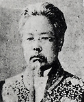 Undated - Masanao Nakamura. Japanese educator and leader of the Meiji Enlightenment in Meiji period. He also went by his pen-name of Nakamura Keiu. (Photo by Kingendai Photo Library/AFLO)