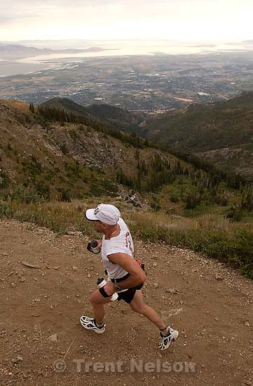 The Wasatch 100 Mile Endurance Run starts in Layton and ends in Midway, with over 53,000 feet of elevation change throughout the mountainous 100 mile course.<br />