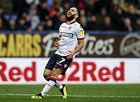 Bolton Wanderers' Erhun Oztumer rues a near miss<br /> <br /> Photographer Andrew Kearns/CameraSport<br /> <br /> The EFL Sky Bet Championship - Bolton Wanderers v Swansea City - Saturday 10th November 2018 - University of Bolton Stadium - Bolton<br /> <br /> World Copyright © 2018 CameraSport. All rights reserved. 43 Linden Ave. Countesthorpe. Leicester. England. LE8 5PG - Tel: +44 (0) 116 277 4147 - admin@camerasport.com - www.camerasport.com