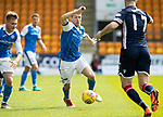 St Johnstone v Ross County…12.05.18…  McDiarmid Park    SPFL<br />David Wotherspoon and Ross Draper<br />Picture by Graeme Hart. <br />Copyright Perthshire Picture Agency<br />Tel: 01738 623350  Mobile: 07990 594431