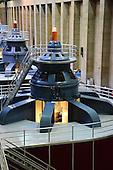 stock photo of hydroelectric power generator