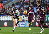 Bolton Wanderers' Clayton Donaldson shoots at goal<br /> <br /> Photographer Andrew Kearns/CameraSport<br /> <br /> The EFL Sky Bet Championship - Bolton Wanderers v Swansea City - Saturday 10th November 2018 - University of Bolton Stadium - Bolton<br /> <br /> World Copyright © 2018 CameraSport. All rights reserved. 43 Linden Ave. Countesthorpe. Leicester. England. LE8 5PG - Tel: +44 (0) 116 277 4147 - admin@camerasport.com - www.camerasport.com