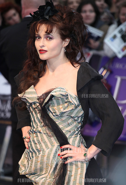 Helena Bonham Carter arriving for the European Premiere of 'Dark Shadows' at Empire Leicester Square, London. 09/05/2012 Picture by: Alexandra Glen / Featureflash