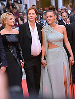 """CANNES, FRANCE. May 24, 2019: Virginie Efira, Justine Triet & Adele Exarchopoulos at the gala premiere for """"Sybil"""" at the Festival de Cannes.<br /> Picture: Paul Smith / Featureflash"""