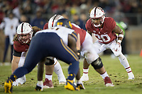 STANFORD, CA - November 18, 2017: Bryce Love at Stanford Stadium. The Stanford Cardinal defeated Cal 17-14 to win its eighth straight Big Game.