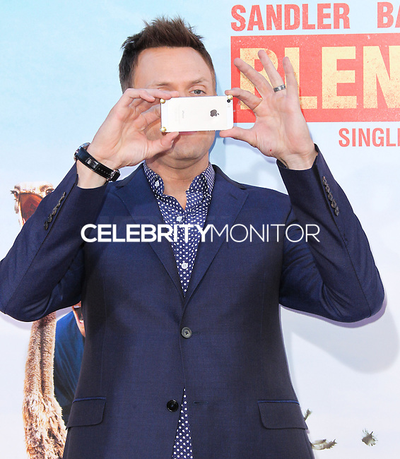 HOLLYWOOD, LOS ANGELES, CA, USA - MAY 21: Joel McHale at the Los Angeles Premiere Of Warner Bros. Pictures' 'Blended' held at the TCL Chinese Theatre on May 21, 2014 in Hollywood, Los Angeles, California, United States. (Photo by Xavier Collin/Celebrity Monitor)