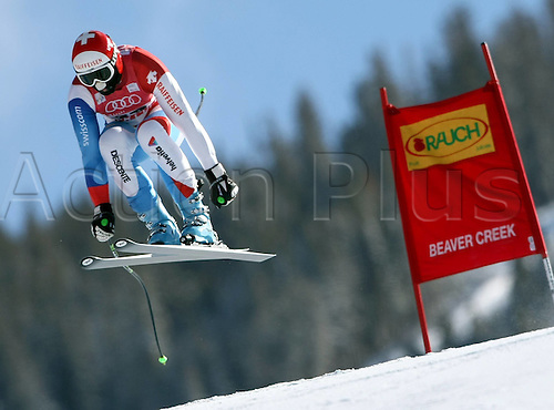 03 12 2009 Pictures Ski Alpine FIS WC Beaver Creek Training Departure men Beaver Creek Colorado USA 03 Dec 09 Ski Alpine FIS World Cup Downhill Training the men Picture shows Silvan Zurbriggen SUI . Photo: Imago sportfotodienst/Actionplus - UK Editorial Use