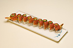 Oko Sushi plates for menus and display