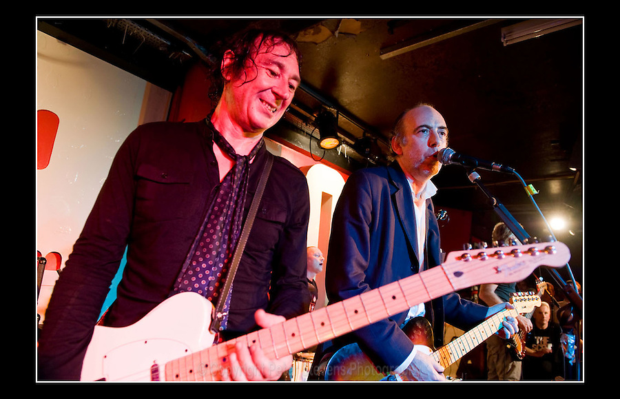 Steve Diggle & Mick Jones - Making the Modern Scene 2 - Terry Rawlings Benefit - 100 Club - 27-07-2009
