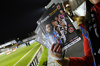 Programmes on sale ahead of the match during Chorley vs Fleetwood Town, Emirates FA Cup Football at Victory Park on 6th November 2017