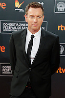 Ewan McGregor attends the American Pastoral premiere during the 64th San Sebastian Film Festival at Kursal in San Sebastian, Spain. . Credit: Jimmy Olsen/MediaPunch ***NO SPAIN***