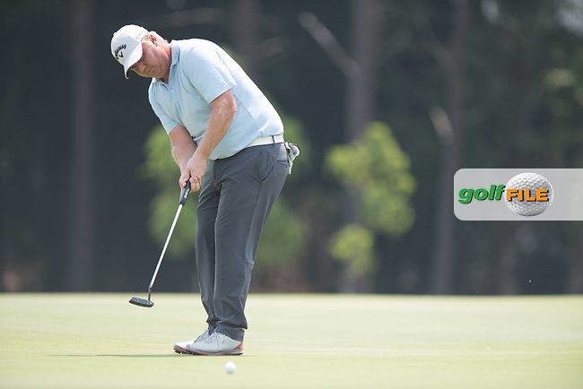 Ross McGowan (ENG) during the final round of the Australian PGA Championship, Royal Pines Resort Golf Course, Benowa, Queensland, Australia. 02/12/2018<br /> Picture: Golffile | Anthony Powter<br /> <br /> <br /> All photo usage must carry mandatory copyright credit (&copy; Golffile | Anthony Powter)
