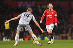 Wayne Rooney of Manchester United - Manchester United vs. Burnley - Barclay's Premier League - Old Trafford - Manchester - 11/02/2015 Pic Philip Oldham/Sportimage