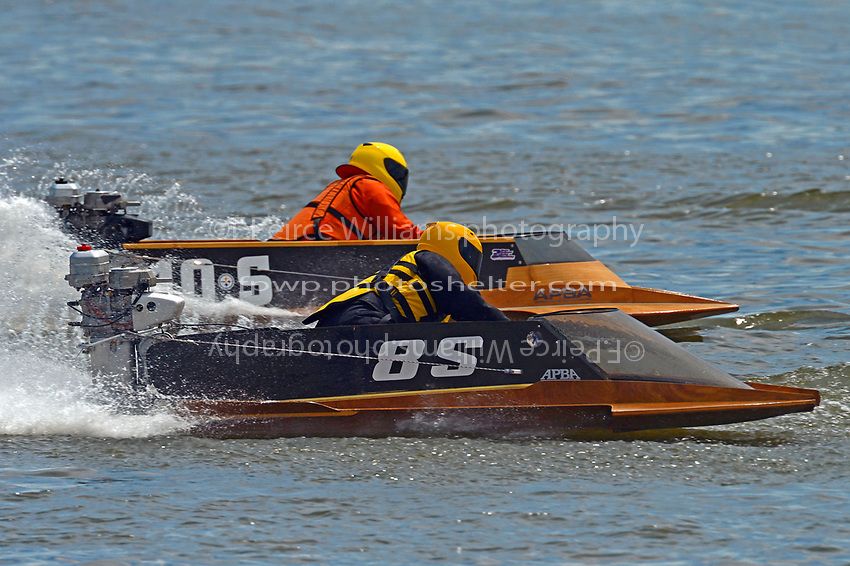8-S and 10-S    (Outboard Hydroplane)