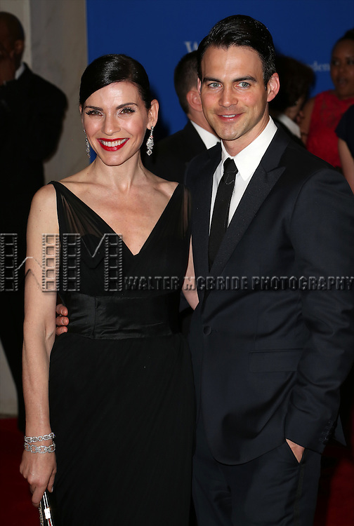 Julianna Margulies and Keith Lieberthal attend the 100th Annual White House Correspondents' Association Dinner at the Washington Hilton on May 3, 2014 in Washington, D.C.