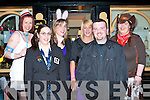 STAFF PARTY: Member's of staff of the Manor West Hotel enjoying a belated Halloween Party at Se?an O?g's bar on Thursday l-r: Geraldine Gallagher, Barbara Bovenizer, Claire O'Grady, Karen Walsh, Ger Ahern and Pauline Hegarty.   Copyright Kerry's Eye 2008